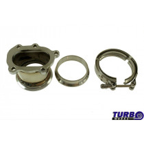 Downpipe GT25R GT28R to 3 V-Band
